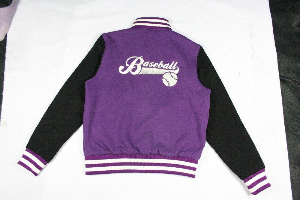 Purple Baseball Jacket | Outdoor Jacket