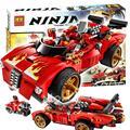 425 шт. Бела 9796 Новый 2016 X-1 Ниндзя Устройство Кай Строительные Наборы Фигурки DIY Развивающие игрушки Кирпичи Совместимы с Lego