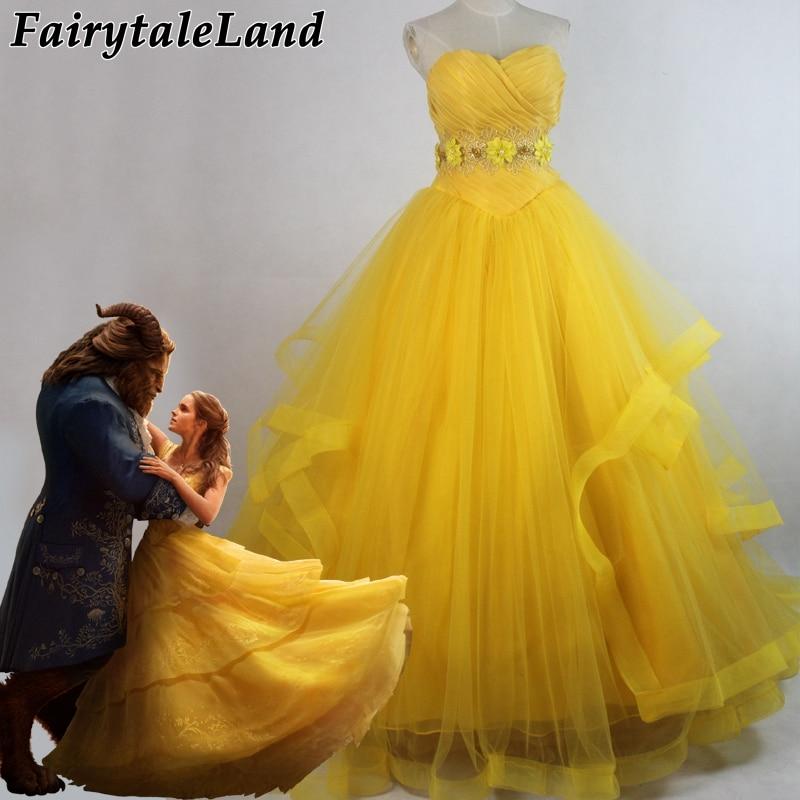 где купить Beauty and The Beast 2017 Princess Belle cosplay costume fancy Newest Belle princess dress adult women Halloween costume lace up по лучшей цене