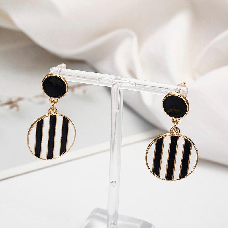 Mais novo moda feminina brincos unquie design geométrico orelha jóias atacado e dropshipping