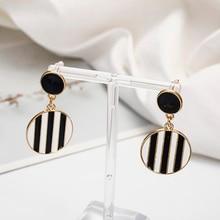 ¡Novedad! pendientes de moda para mujer, diseño geométrico, joyería de oreja, venta al por mayor y envío directo