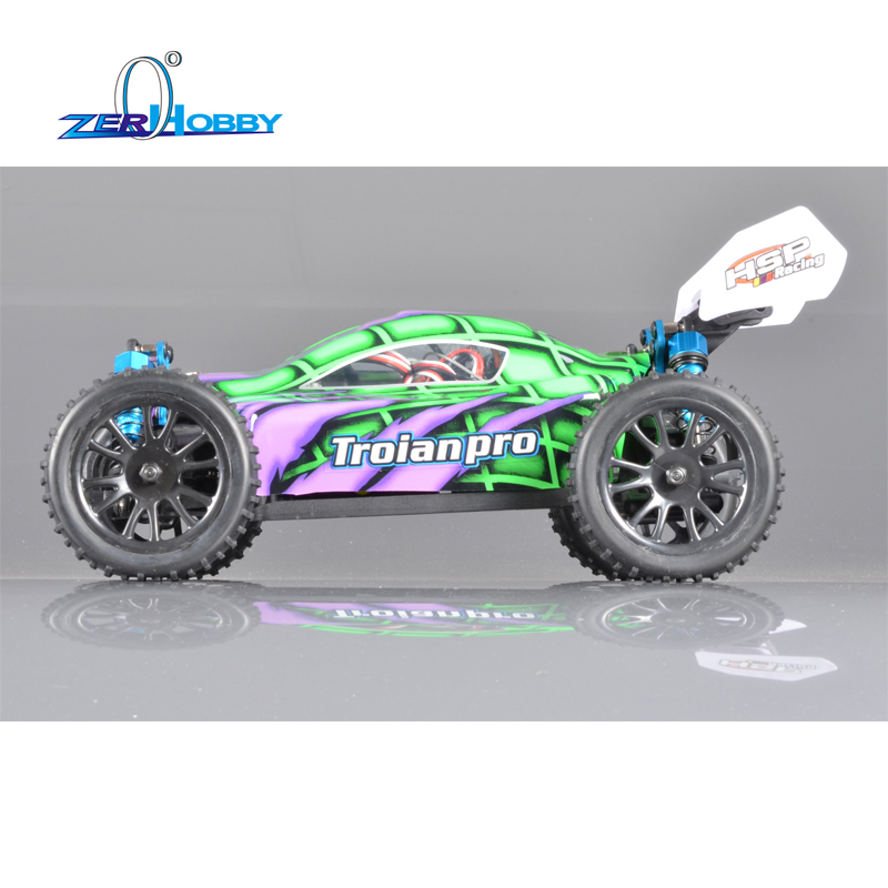 HSP RACING TROIAN 94185PRO 1/16 SCALE 4WD OFF ROAD ELECTRIC BRUSHLESS REMOTE CONTROL BUGGY LIPO BATTERY BRUSHLESS MOTOR RTR