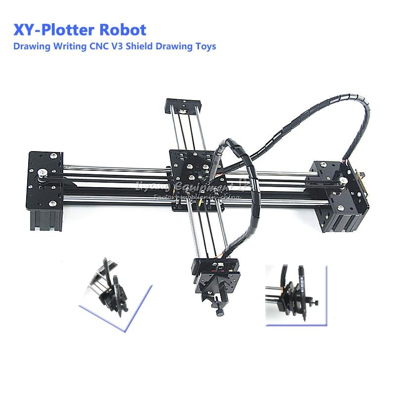 XY plotter DIY drawbot stift zeichnung roboter maschine CNC V3 schild spielzeug-in Elektrowerkzeug-Sets aus Werkzeug bei AliExpress - 11.11_Doppel-11Tag der Singles 1