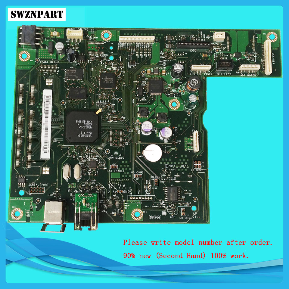 Free Shipping! FORMATTER PCA ASSY Formatter Board logic Main Board MainBoard for HP CM1415fn CM1415fnw CE790-60001 CE690-67901 formatter pca assy formatter board logic main board mainboard mother board for hp 3530 3525 cc452 60001 cc519 67921 ce859 60001