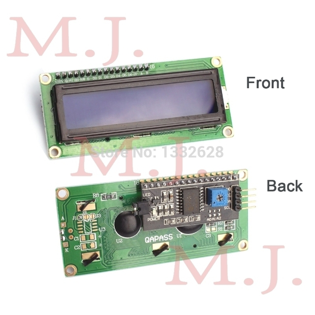 Special promotions !!!! LCD module Blue screen IIC/I2C for arduino 1602 LCD UNO r3 mega2560