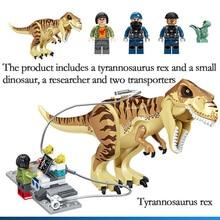 631 Pcs Jurassic World Park Trex Transport Blocks Compatible Legoingly 75933 Dinosaur