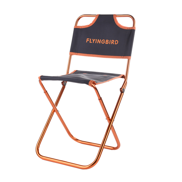 Outdoor Folding Chair Seat High Quality Camping Picnic Beach Backrest Chair  Ultlight Chair For Fishing Stools