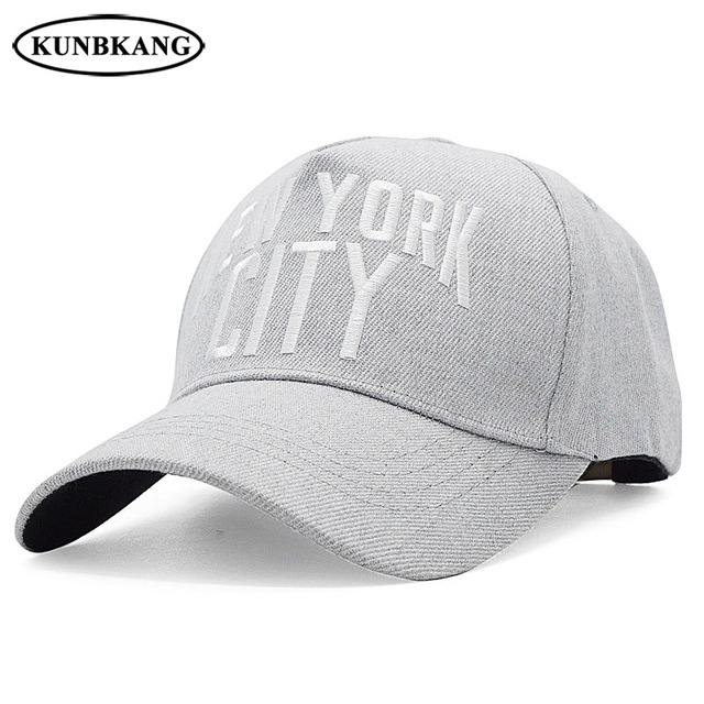 5a9203d81a4ca1 New Brand NY Baseball Cap Cotton Letter Snapback Hat Embroidery Bone For Men  Women Sport Casual