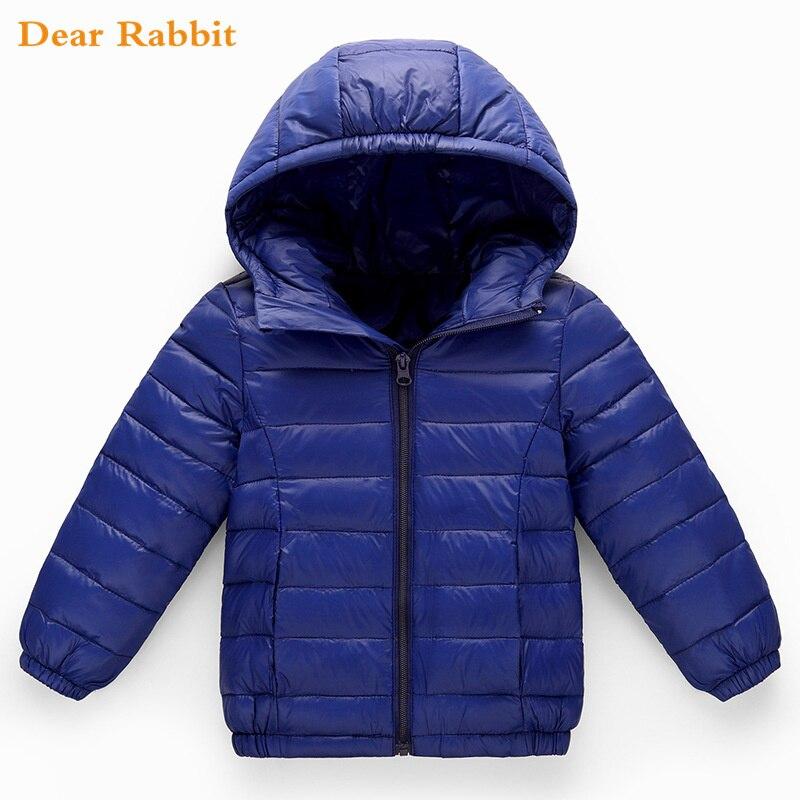 От 2 до 10 лет Light 90% утка пуховик Детская верхняя одежда для мальчиков и девочек осень теплое пальто с капюшоном Подростковая парка детские зи... ...
