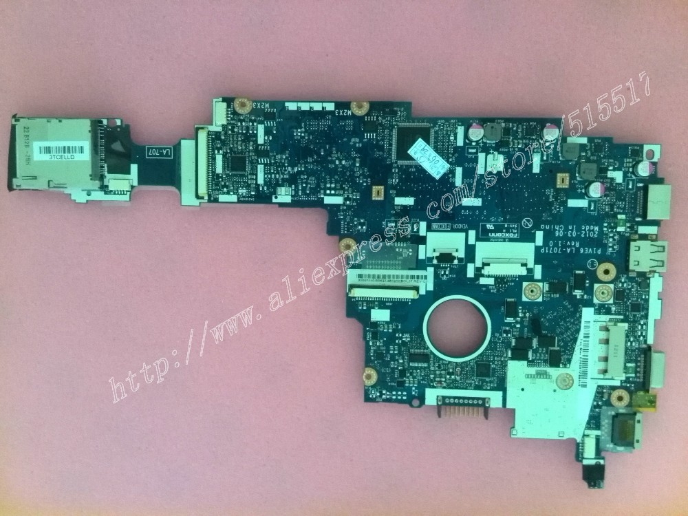 P1VE6 LA-7071P Rev:1.0 Main board For Acer aspire ONE 722 AO722 Motherboard Card