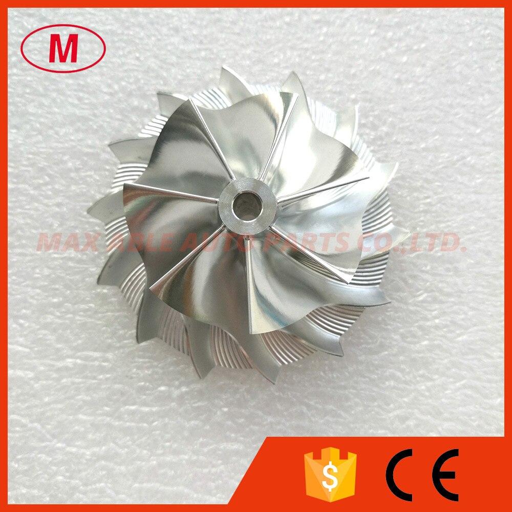 TD04HL High Performance Turbocharger Aluminum 2068 Milling Billet Compressor wheel 44 00 62 00mm 7 7