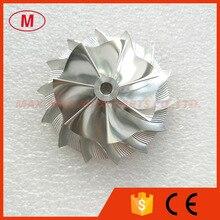TD04HL Высокая производительность турбокомпрессора Алюминий 2068/фрезерные/заготовки крыльчатка компрессора 44,00/62,00 мм 7+ 7 блейдов