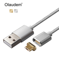 Magnetic USB Cable Fast Data Charging Cables USB Charger Micro USB Cable Mobile Phone Cables For