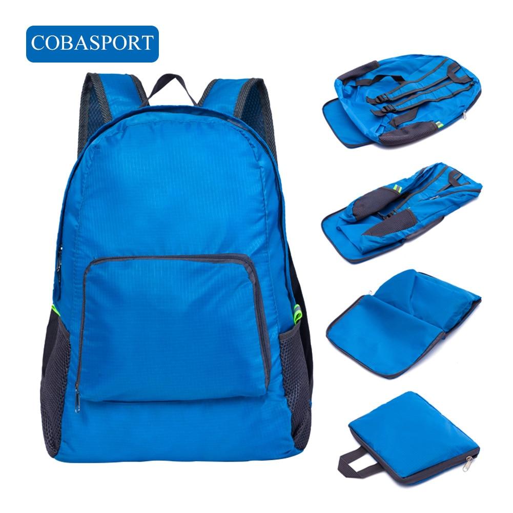 COBASPORT Backpack Toilet-Bag Korean-Version Skiing-Bags Foldable Travel Nylon Outdoor