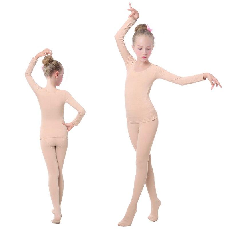 Ropa interior de Ballet para niñas, niños, leotardos, mallas de ...