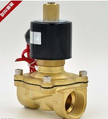 2W200-20K Electric Solenoid Valve Water Air N/O 220V AC 3/4 Normally Open Type 2W200-20K 12V 24V 220V