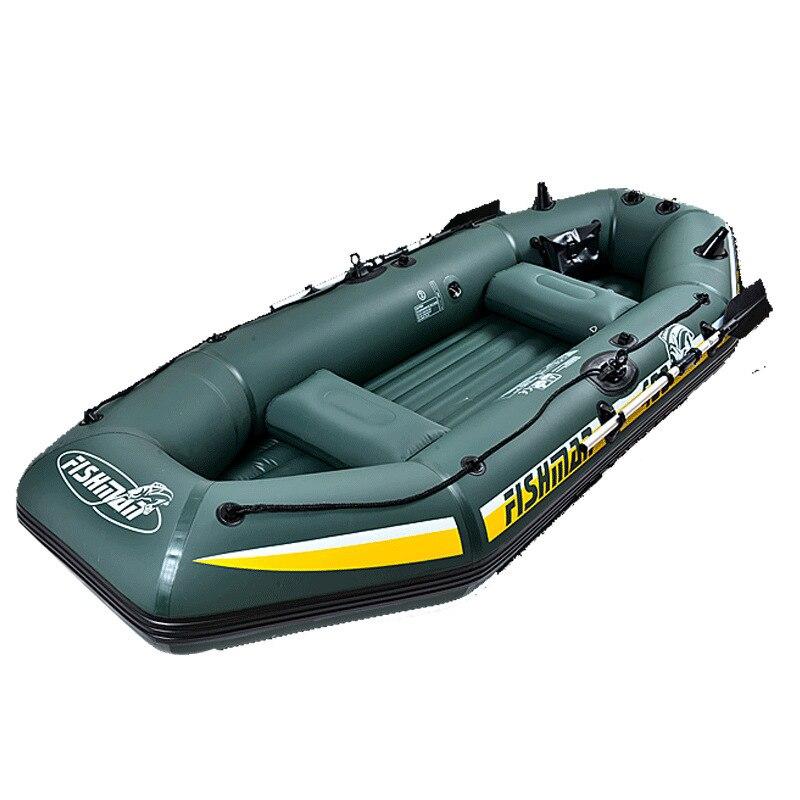 Bateau gonflable de bateau en caoutchouc de bateau de 5 hommes avec le Kayak de bateau de pêche de Machine hors-bord de moteur