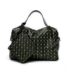 Bao Bao Designer Women Geometry Handbags High Quality 2017 Luxury Brand Folding Tote BaoBao Bags Women