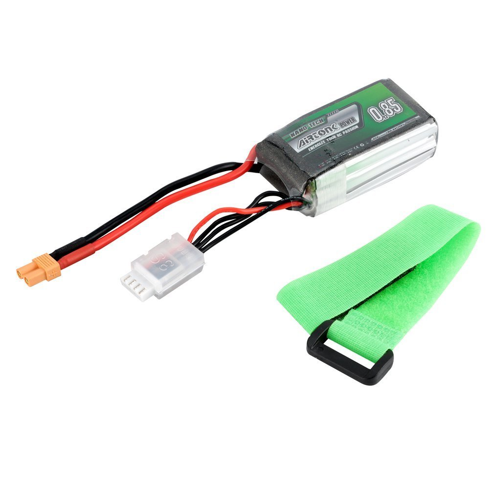 Airtonk Power 11.1V <font><b>850mAh</b></font> 30C <font><b>3s</b></font> 1P Lipo Battery XT30 Plug Rechargeable for RC Racing Drone Quadcopter Helicopter Car Boat image
