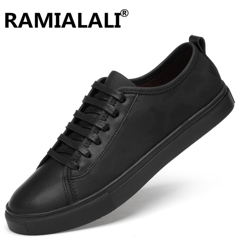 Genuine Leather Casual Shoes Fashion Men Shoes Breathable Comfortable Men Real Leather Shoes Lace up Moccasins