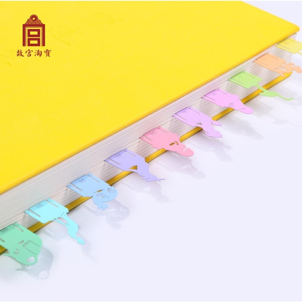 caixa de caixa de presente marcador no museu do palacio 1 rainbow color 10 pecas
