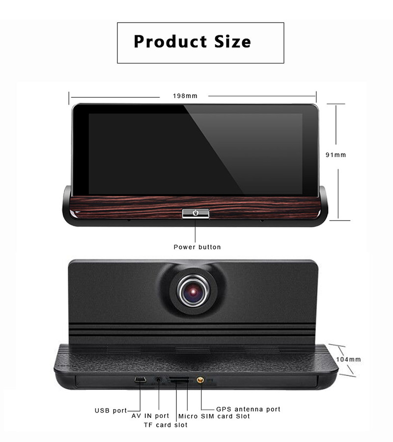 dvr with rear view camera (3)