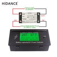 300V 100A Digital DC Voltmeter Ammeter Voltage Meter Car Battery Capacity Volt Current Wattmeter Detector Power