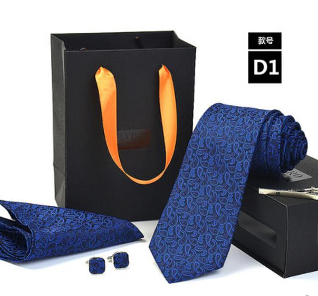 Nova Envio Gratuito de homens de Negócios de moda masculina casual masculino vestido de casamento idéias do presente da moda gravata listrada SET on sale
