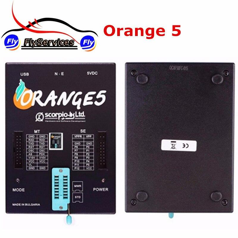 New Design OEM Orange5 Programmer Orange 5 Programmer With Full Packet Hardware + Additional Software Fast Shipping