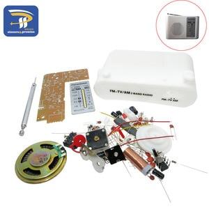 CF210SP AM/FM Stereo Radio Kit DIY Electronic Assemble Set Kit Portable FM AM radio DIY parts For Learner(China)