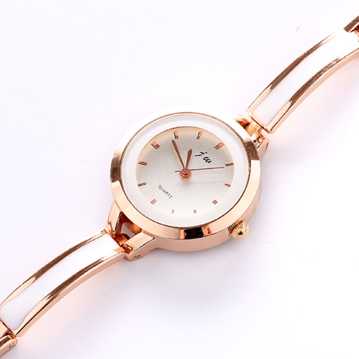 Women Watches Stainless Steel Bands Elegant Women Girl Bracelet Watch Quartz OL Ladies Wrist Watch
