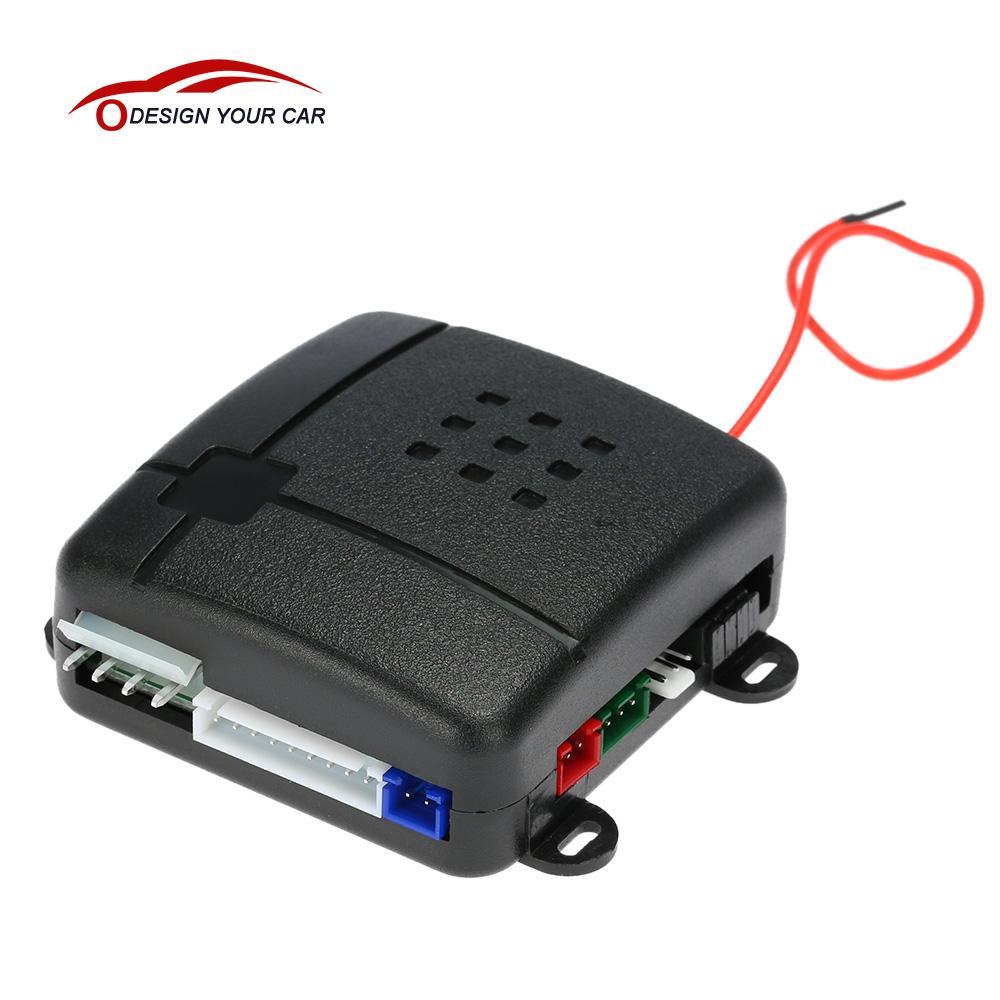 1 voie voiture Auto véhicule système de sécurité antivol alarme Protection antivol système 2 télécommande pour Cevrolet Cruze Peugeot 307 Golf 4