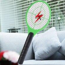 Домашняя электрическая мухи комары Swatter комаров убийца ракетка-электромухобойка средство от насекомых аккумуляторная батарея ловушка для насекомых Swatter