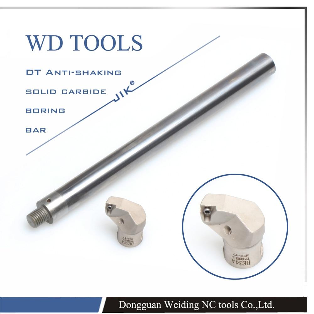 ST08-W5-100 BE09A barre d'alésage modulaire en carbure de tungstène de petit diamètre ST EC1608