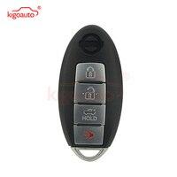 Cwtwbu735 4 botão 315mhz chave inteligente para nissan maxima sentra com prox 2007 2008 2009 kigoauto