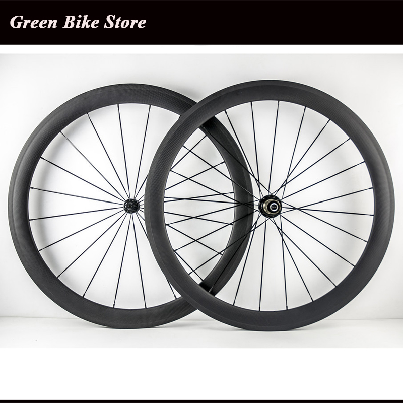 Wholesale 50mm full carbon wheelset tubular carbon wheels 700C road wheelsetWholesale 50mm full carbon wheelset tubular carbon wheels 700C road wheelset