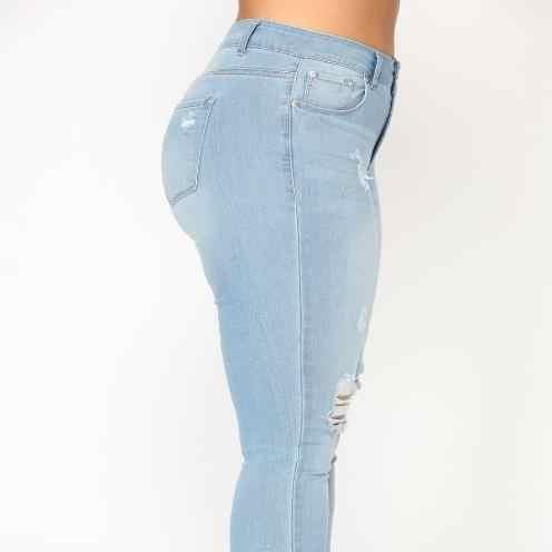 Рваные Джинсы женские большие размеры рваные джинсы женские большие размеры обтягивающие джинсовые брюки женские большие размеры 5xl 6xl 7xl ZN91