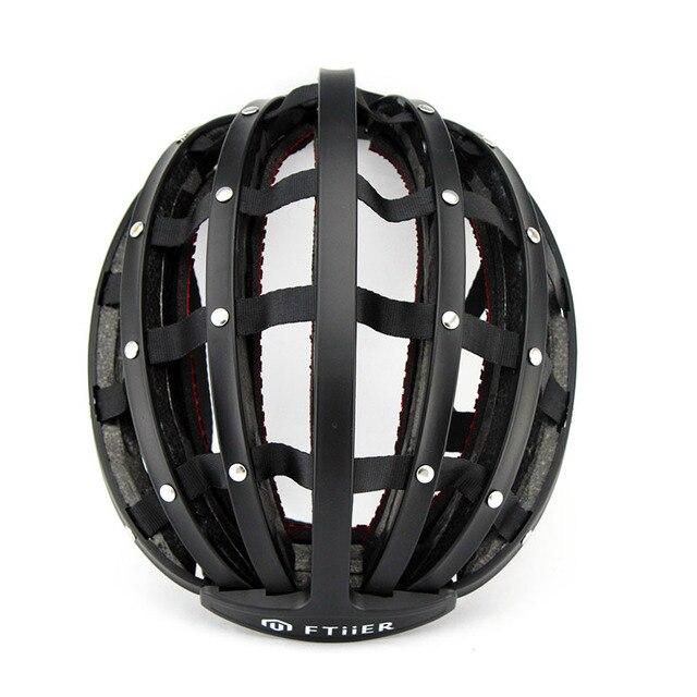 2017 New Foldable Cycling Helmet Portabel Ultralight Road Bike Helmet Unisex Bicycle Helmet Adult Mountain Capacete Ciclismo 2
