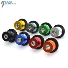 For kawasaki Motorcycle M10 M6 M8 screws Swingarm Spools slider For Kawasaki Z800 Z750 Z100 W800