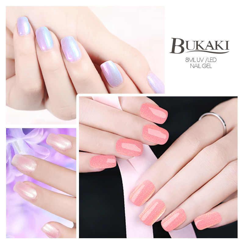 Esmalte de uñas sirena brillo Shell híbrido barniz manicura pintura de uñas Color esmalte de perlas esmalte de uñas laca