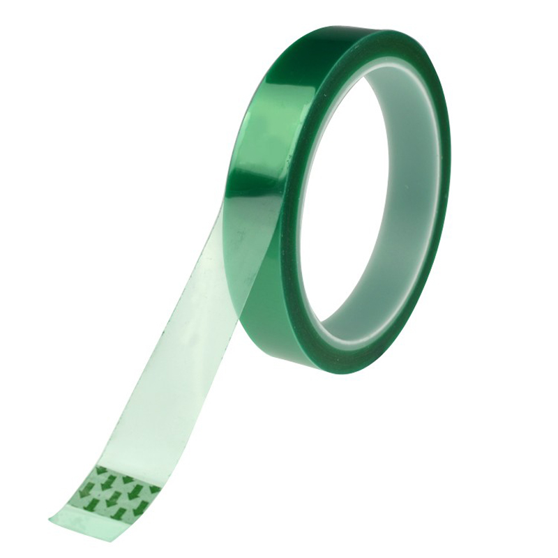 Creative 33m PET Green Silicone High Temperature Adhesive Tape Solder Protect Coating Sticky PCB Electroplate Mask Shield Tape