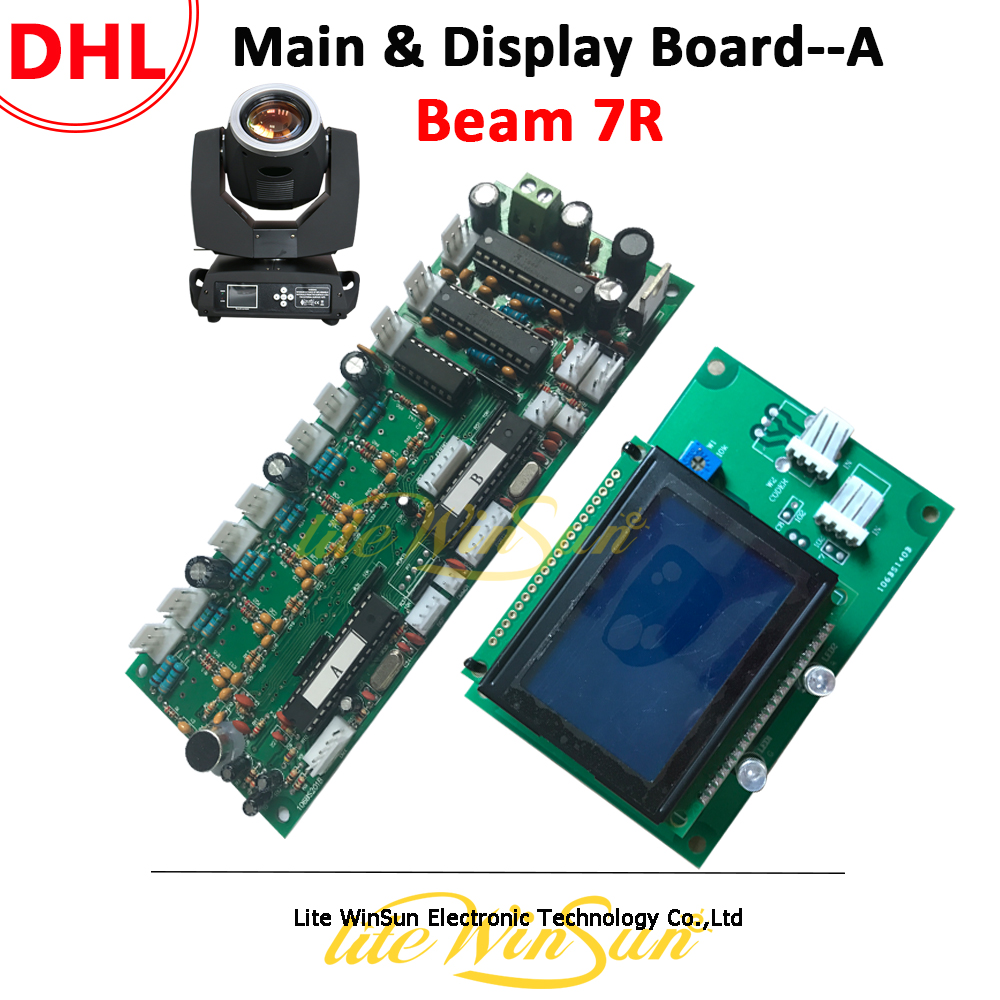 Litewinsune DHL Free Ship Main Board/Display Board for Beam R7 230W Sharp Moving Head Light Mother Board Mainboard Touch ScreenLitewinsune DHL Free Ship Main Board/Display Board for Beam R7 230W Sharp Moving Head Light Mother Board Mainboard Touch Screen