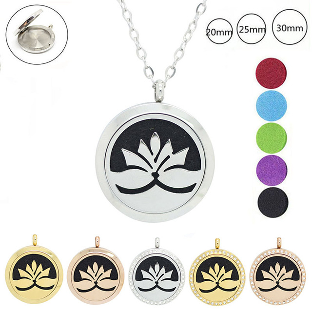 20mm 25mm 30mm 316l stainless steel magnetic essential oil 20mm 25mm 30mm 316l stainless steel magnetic essential oil diffuser necklace perfume essential oil pendant necklace aloadofball Images