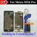 """Alta qualidade new display lcd + assembléia tela de toque digitador para meizu pro6 mx6 pro inteligente celular 5.2 """"com quadro"""