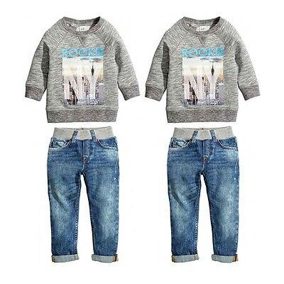 Hot Sale Baby Kids Boys Autumn Cotton Coat Shirt Sweater