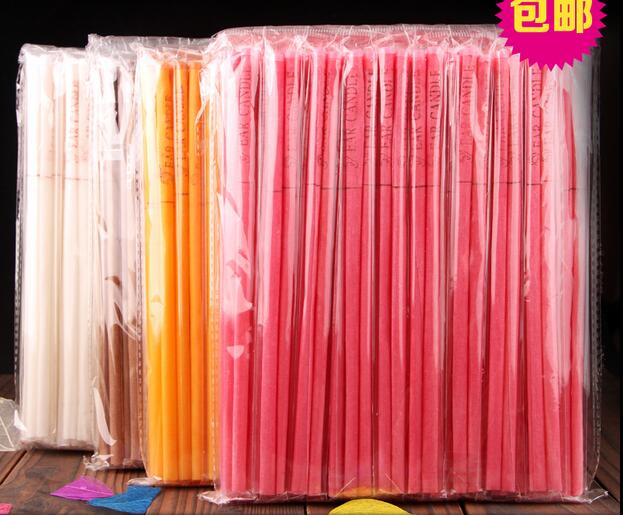 2018 Hotsale 200pcs=100pairs High-Quality Authentic Natural Beewax Ear Candle Free Shipping