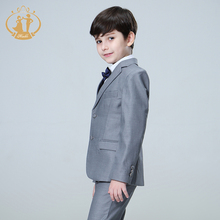 Nimble suit for boy Single Breasted boys suits for weddings costume enfant garcon mariage boys blazer jogging garcon grey
