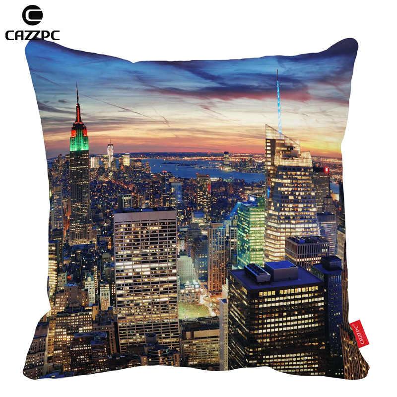 Excellent New York City Night Sunset View Print Print Car Decorative Unemploymentrelief Wooden Chair Designs For Living Room Unemploymentrelieforg