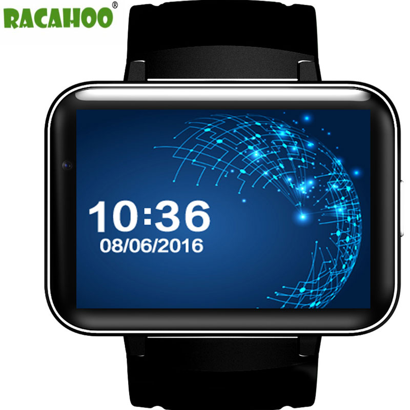 RACAHOO Smart Watch With 3G WIFI Watch Phone Sleep Monitor Pedometer GPS SIM Card Smartwatch For Android 5.1 IOS xiaomi huawei 3g smart watch finow k9 android 4 4 bluetooth wcdma wifi gps sim smartwatch colock phone for ios