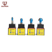 цена на 4Pcs 6mm Shank Router Bit Set 1/4 5/16 3/8 1/2 For Wood Milling Cutter
